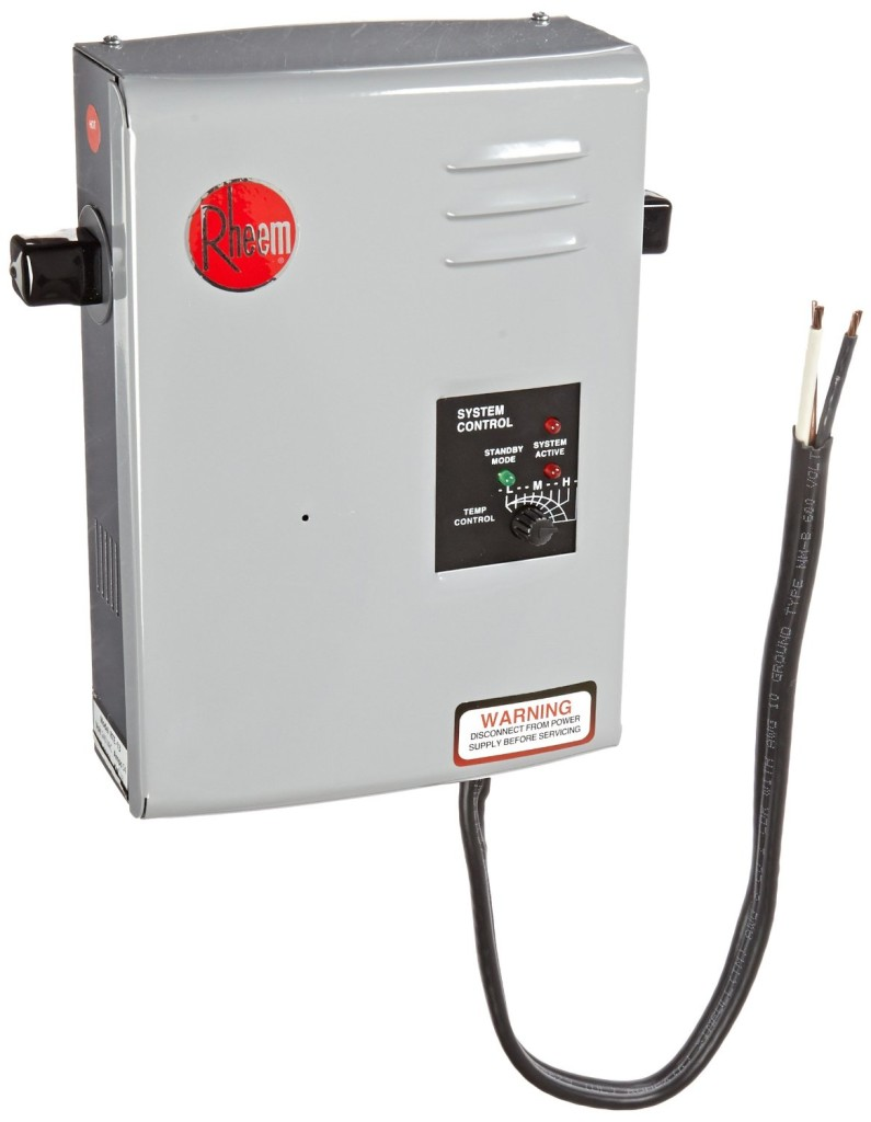 Rheem Tankless Water Heater 57