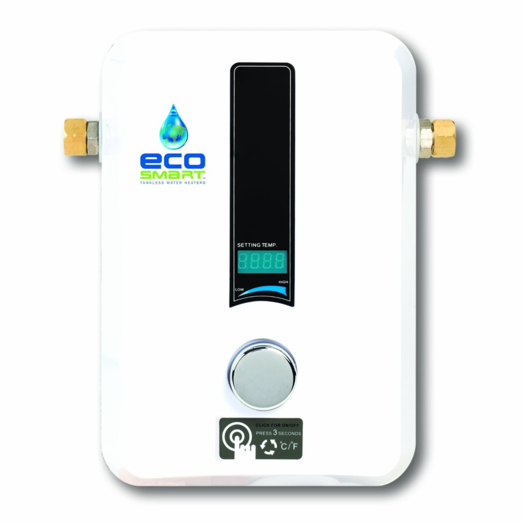 EcoSmart 11 KW Electric Tankless Water Heater, 11KW at 220 Volts with Patented Self Modulating Technology