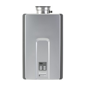 gas powered tankless water heater