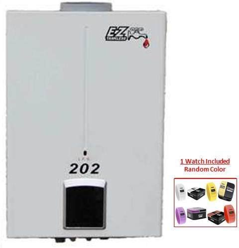 EZ 202 Tankless Water Heater (OUTDOOR) High Capacity has more Gallons Per Minute than the Eccotemp L10