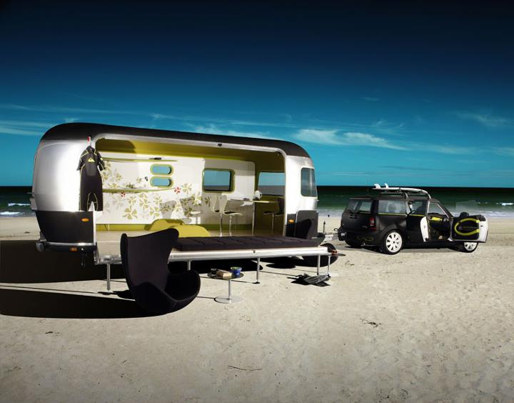 Mini Cooper Travel Trailer